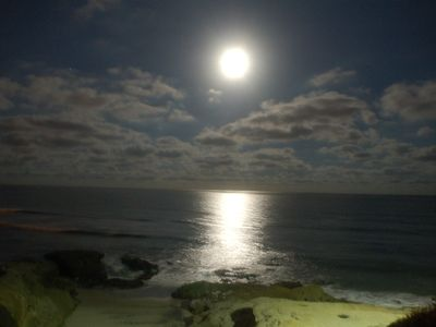 Ocean Beach condo rental - Harvest Moon Over Pacific