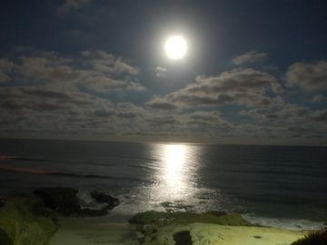 Harvest Moon Over Pacific