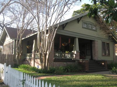 Austin house rental - The most relaxing and beautiful porch in downtown Austin.