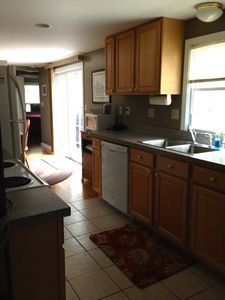 Fully Stocked Kitchen with all amenities.