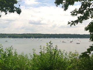 Delavan house photo - From our porch you can watch a beautiful sailing regatta!
