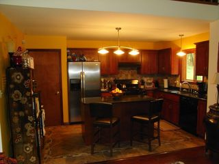 Bushkill chalet photo - fully-equipped kitchen