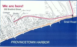 Provincetown apartment photo - Map of our location