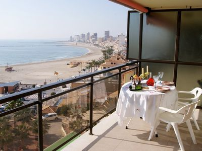 El Campello apartment rental - South views
