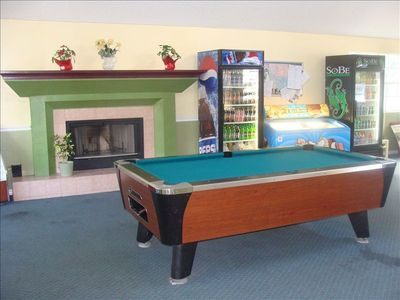 Pool tables and video are also available when you need to relax away from the pa
