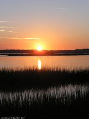 St. Augustine Beach condo photo - Sunset over the Marsh