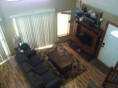 Okoboji cabin rental - View from loft