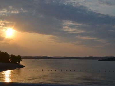 Sunset on Table Rock Lake