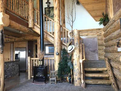 Beautiful, large, updated cabin with a stunning view of Strawberry Reservoir