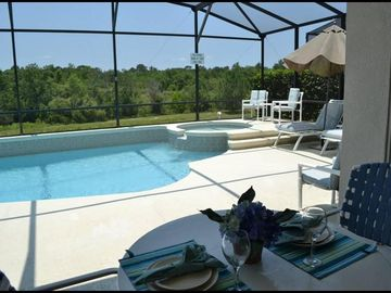 Windsor Palms villa rental - Southwest facing- Sun almost all day!