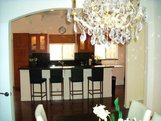 Redondo Beach house photo - View from dining room of 10 ft kitchen island