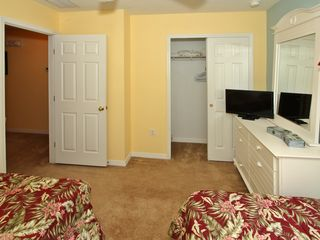 Paradise Cay townhome photo - 2 single beds+TV
