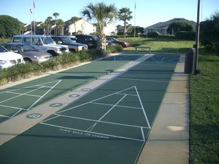 St. Augustine Beach condo photo - Shuffleboard Courts