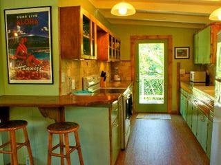 Pahoa cottage photo - Kitchen