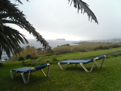 Coastal view with Ilheu of Vila Franca do Campo