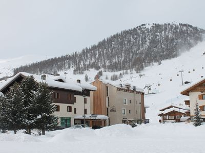 Spacious apartment, centrally located and close to the skilift of Costaccia