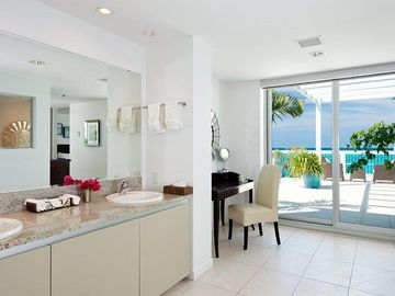 Master Bath and Sitting Area (Yes, with Ocean Views)