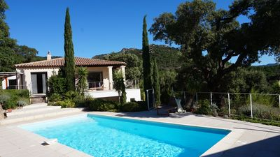 VILLA 10 PEOPLE- PLAN DE LA TOUR 15 km ST TROPEZ