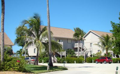 Captiva Island cottage rental - Beach Cottage from Private Parking Lot