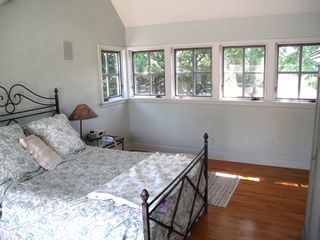 Sag Harbor house photo - Bedroom with private entrance and deck