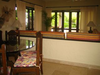Puerto Vallarta condo photo - Unit opens right up with folding glass doors.