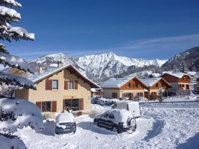4 new chalets, comfortable, south, at the foot of the ski slopes ORRES