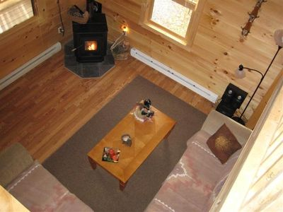 Towamensing Trails house rental - from loft