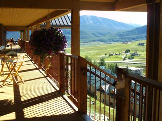 Crested Butte condo photo - the beautiful decks with views