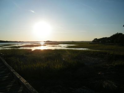 Marsh Views and lots of wildlife on the Island