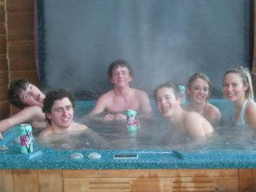 Snowshoe Mountain townhome rental - Soaking the muscles after a day on the slopes