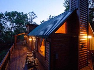 Ellijay cabin photo - Dusk shot of the Stargazer