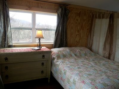 Bunk room with 4th bedroom/Queen bed.