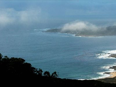 Carmel Highlands house rental - Watch the Ever-Changing Weather as Fog Rolls in