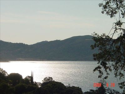 View of Clearlake from Yard