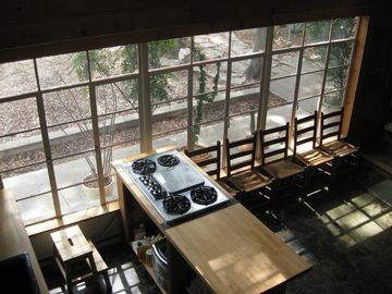 Kitchen (View from Loft)