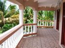 Spacious Front Covered Verandah - Lance Aux Epines house vacation rental photo