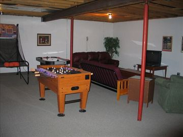 Fun basement!