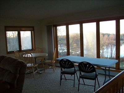 Montello house rental - Extra tables available for crafts or games.