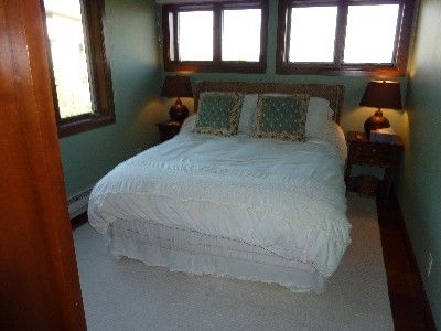 Top Floor Queen Bedroom With Views of Rendezvous Mountain and Across the Valley