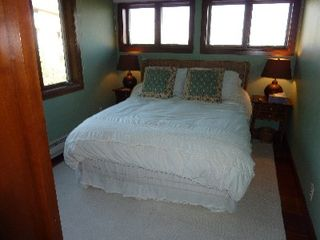 Teton Village condo photo - Top Floor Queen Bedroom With Views of Rendezvous Mountain and Across the Valley