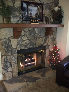Moose Mountain Hearth at Christmas