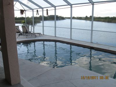 Cape Coral house rental - Pool area