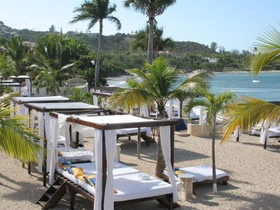 Beds On VIP Beach, Lay Back Have All Drinks And Food Served