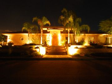 Fountain Hills house rental - View from Street/Evening