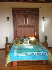 Uvita villa photo - Master bedroom. Enjoy the vista from your pillow. Wake up to the howlers/birds.