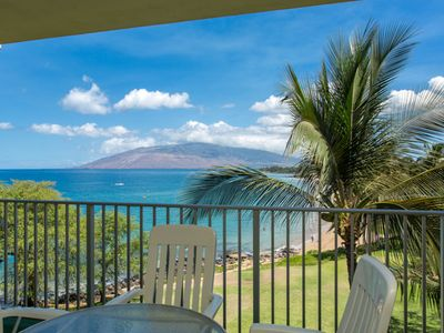 Whale watching and views to West Maui from your Lanai