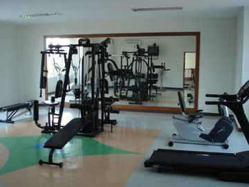 private fitness in guest house and this community fitness as well
