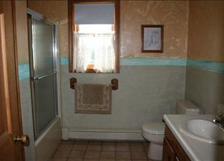 East Orleans house photo - Full bathroom with Tub/Shower combo