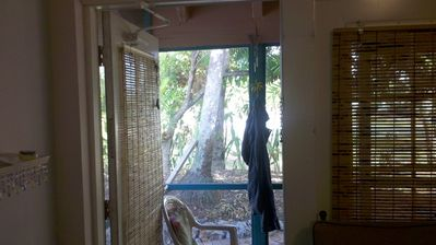 door studio  to your own screened porch