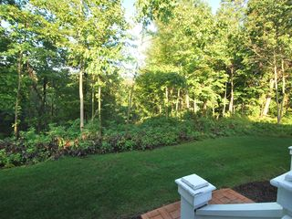 Saugatuck / Douglas house photo - Lawn in back of home overlooking ravine